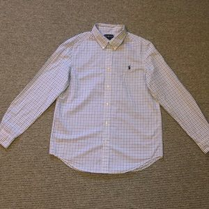Ralph Lauren button down shirt. Boys XL (18/20).